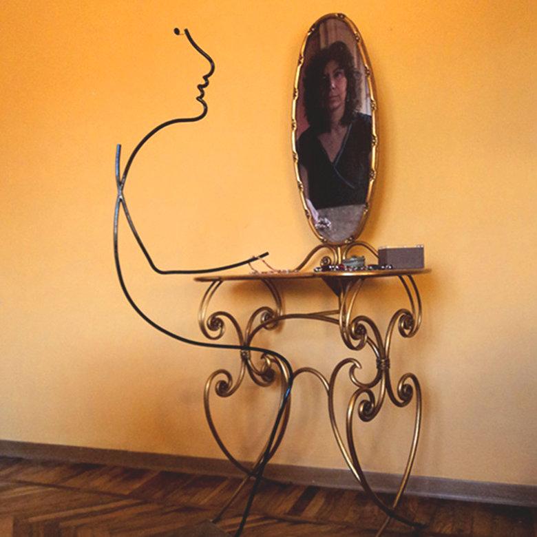 scultura di Micaela Delfino